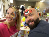 Face painter for parties and events