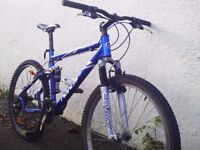 Giant NRS 4 mountain bike - air suspensions