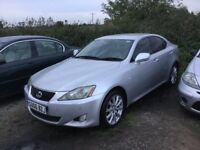 DIESEL LEXUS IS SPECIAL EDITION MODEL FULLY LOADEDLOADS OF HISTORY FULL LEATHER INTERIOR SAT AIR