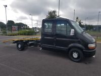 53 reg 2004 renault master 2.5dci crew cab recovery truck 12 months mot 89000 miles top spec read ad