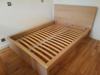 Ikea double bed - frame only