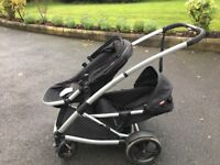 Phil & Teds Promenade. Single, Double or Twin stroller/buggy/pram. With accessories