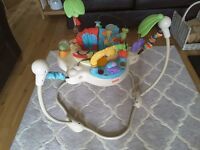 Fisher price Jungle Jumperoo, good clean condition however no lights or music.