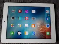 Apple iPad 3 16gb WiFi White c/w Charger & USB Lead