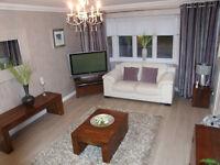 Next Dakota Mango Furniture - Corner TV unit