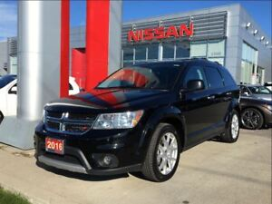 2016 Dodge Journey R/T AWD, Leather, Heated seats/steering wheel