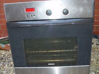 BOSH electric oven - needs attention with instructions