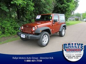 2014 Jeep Wrangler Sport! 4X4! ONLY 46K! Trade-In!