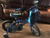 "Kids bike 12""inc used"