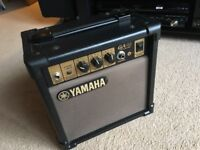 Yamaha GA-10 Practice Guitar Amp. Hardly used and in very good condition