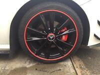 """Mercedes alloy wheels black 5x112 amg """"swaps"""""""