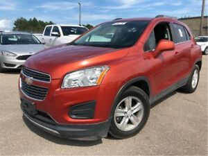 2015 Chevrolet Trax LT  MOONROOF BACK UP CAM ALLOYS LEATHER/CLOT