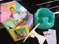 Baby Bumbo in aqua with Tray