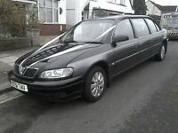 VAUXHALL Omega. 2001. Wedding car Limo executive style. 8 seats