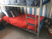 Immaculate bunk beds for sale, less than a year old.