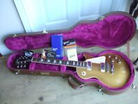 Gibson Les Paul Gold Top Deluxe Limited Edition Year 2000