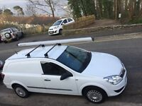 White Vauxhall Astra 2008 van for sale. Good condition