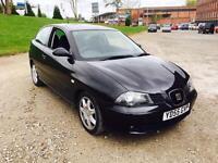 2006 Seat Ibiza 1.4 Sport 16v Black Metallic 66,000