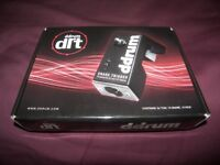DDrum DRT Acoustic Trigger Set PRO Triggers for Toms , Snare and Bass Drum / Black.