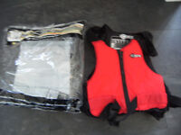 buoyancy aid crs mk1 red and black new