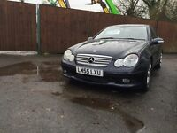 Mercedes c160 Sports coupe edition auto, FULL STAMPED HISTORY WITH 6 MONTH WARRANTY