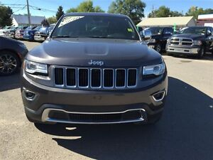 2015 Jeep Grand Cherokee Limited - LOW KM! Accident Free, Loaded