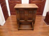 Old Charm Pedestal Cabinet