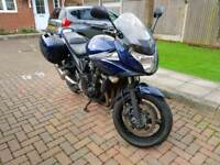 2010 Suzuki GSF 650 BANDIT- minor damage CAT N - only 10k miles from new