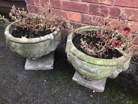 3 No Stone Planters