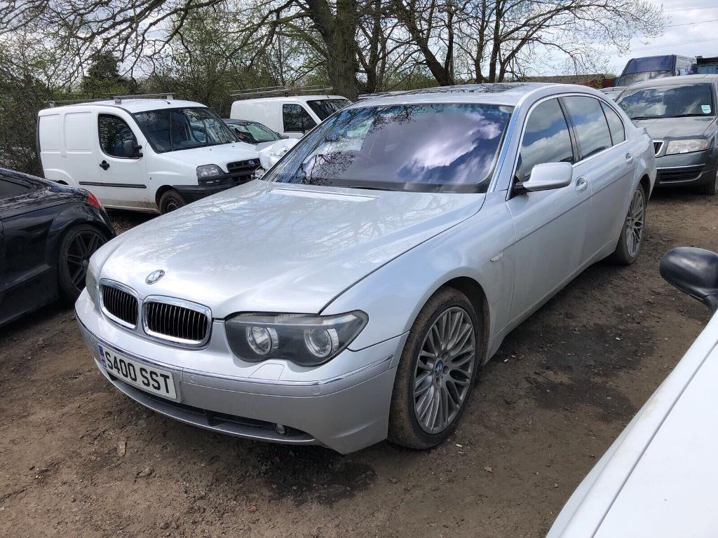 2003 Bmw 760li Auto Mive Spec Hpi Clear Spares Or Repairs Very