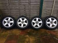 Skoda Alloy Wheels 5 x 100 VW SEAT VOLKSWAGEN