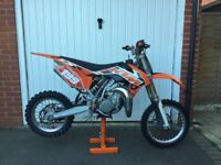 KTM SX 85 Small Wheel 2015