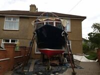 Fishing Boat for Sale 19ft Colvic inboard engine £7,500.