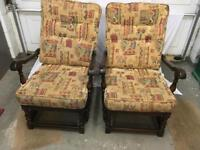2 X ERCOL FIRESIDE CHAIRS