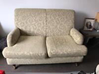 Vintage loom chair and sofa.