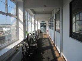 Spacious Sunny 5+desk studio in Dalston
