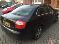 CHEAPEST IN UK* 2003 Audi A4 2.0 B6 TSI PETROL FACELIFT, NO LOGBOOK. DRIVES GOOD TOTAL BARGAIN