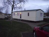 Six berth caravan at Haven Craig Tara, full central heating and double glazing
