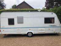 Lunar Eclipse GTS 525 - 5 berth caravan £3,250 - sensible offers considered