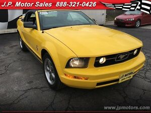 2006 Ford Mustang V6, Automatic, Leather, Convertible Oakville / Halton Region Toronto (GTA) image 7