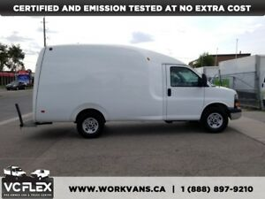 2013 GMC Savana 3500 G3500 12Ft Single Wheel Bubble Box Van