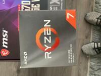 Ryzen 7 3700x and mpg x570 mobo