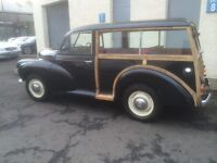 Beautiful Restored Morris Minor Traveller 803cc Split Screen For Sale