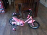 Girls btwin bike