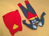 Superman costume age 5-6 years