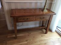 Hall Table, Marks and Spencer in solid wood.