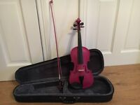 4/4 Violin Pink Fantasia Rainbow Edition