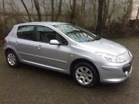 Peugeot 307 HDI DIESEL LOW ROAD TAX MILEAGE 71000