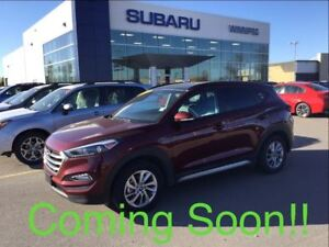 2017 Hyundai Tucson Luxury sunroof, heated seats