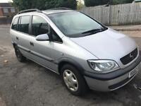 2002 Opel/Vauxhall Zafira 1.8 Petrol 7 Seats! Good runner!